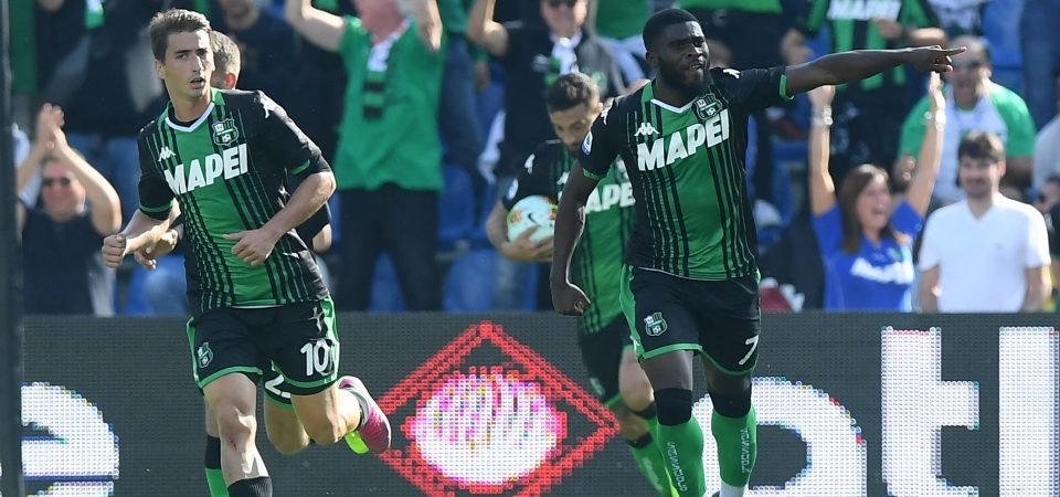 Palace in contact with Sassuolo over Boga deal