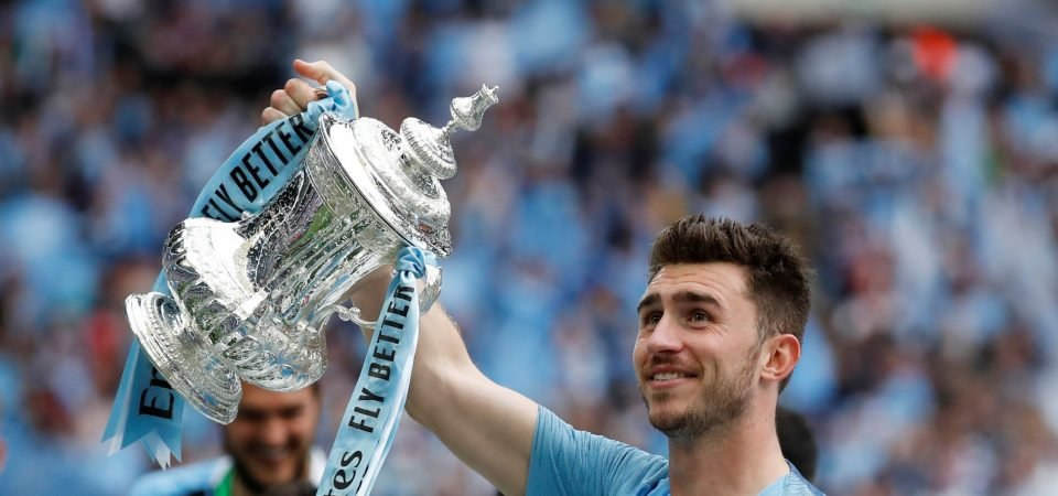 Manchester City: Laporte suffers injury on Spain duty