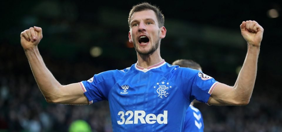 Borna Barisic was Rangers' unsung hero against Motherwell