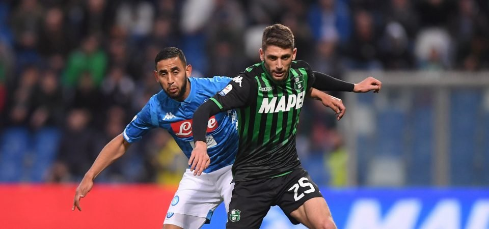 Leicester City linked with Domenico Berardi