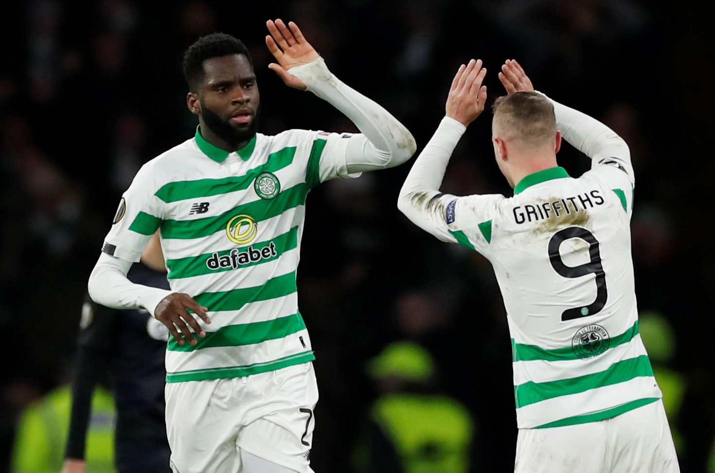 Edouard celebrates with Griffiths e1583146366885 - Harsh lesson: £15k-p/w Celtic man makes vow club can't ignore, will prove Lennon wrong – opinion