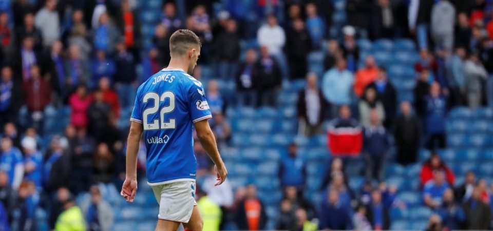 Glasgow Rangers must bite the bullet and sell Jordan Jones in January