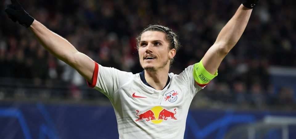 Arsenal must beat Spurs to RB Leipzig's Marcel Sabitzer