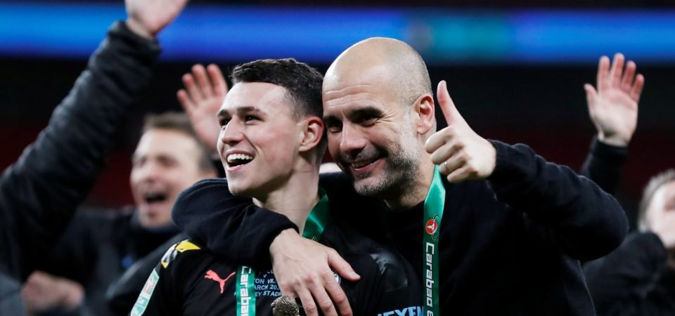 Exclusive: Rob Lee backs Pep Guardiola over benching Phil Foden