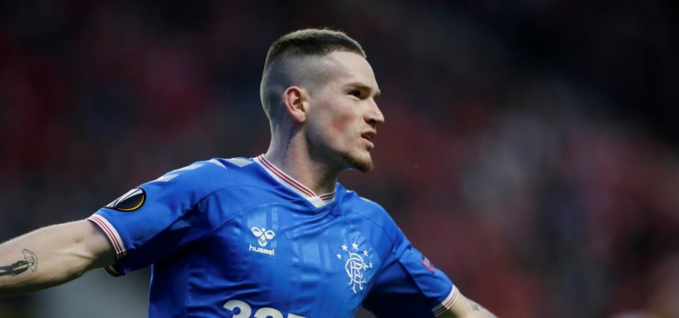 Ryan Kent was exceptional once again in Rangers win over Royal Antwerp