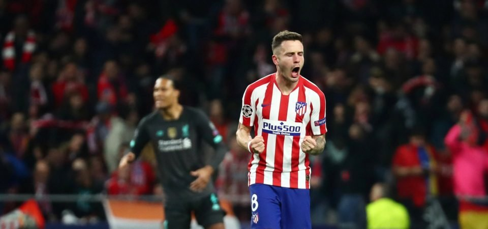 Manchester United: Saul Niguez is not expected to move to Old Trafford