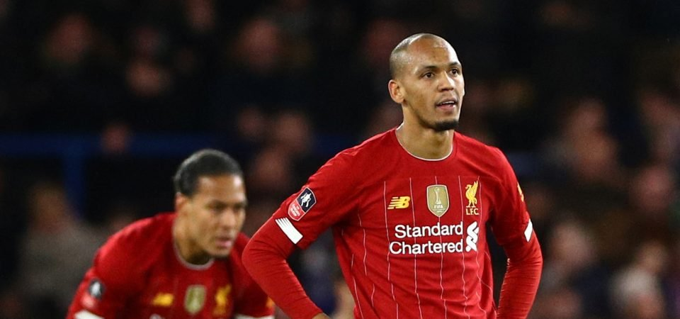 Jurgen Klopp dealt fresh Liverpool injury blow with Fabinho