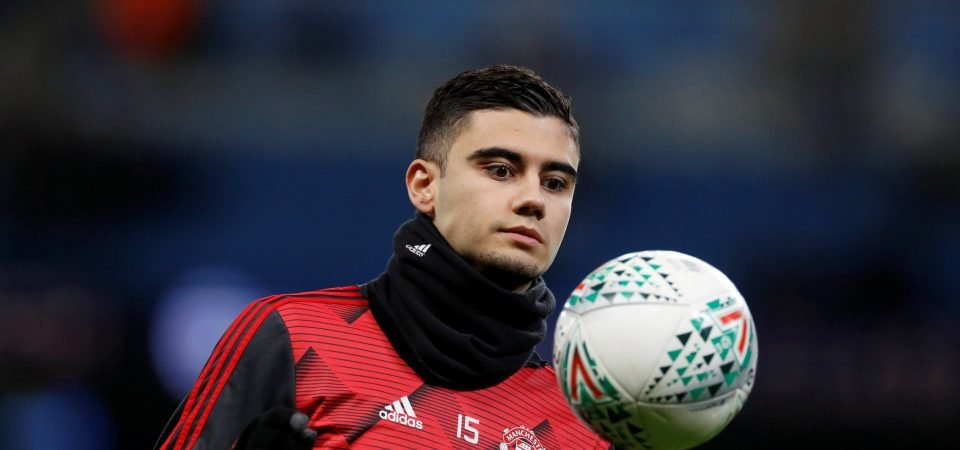 Manchester United must sell Andres Pereira this summer
