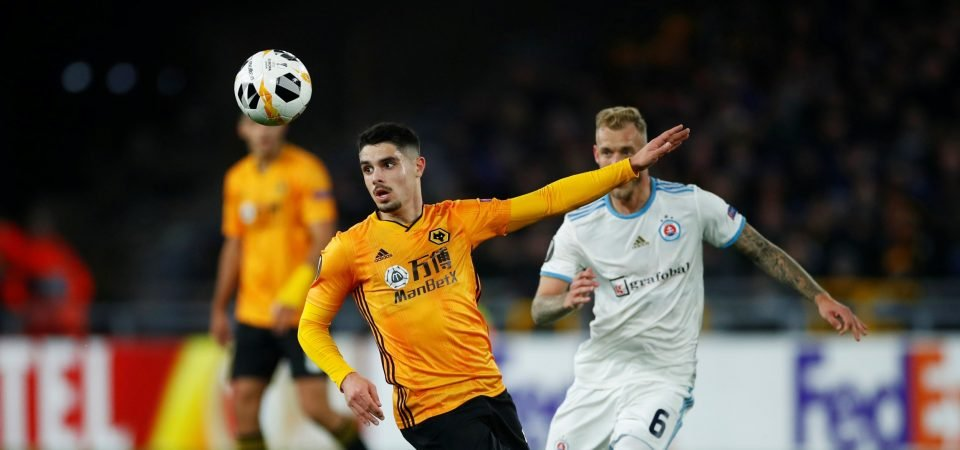 Wolves fans find a positive in Pedro Neto's showing
