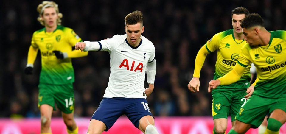 Spurs fans go wild over Giovani Lo Celso footage