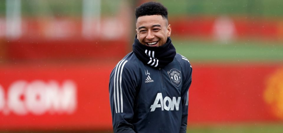 Jesse Lingard could be Holtby 2.0 at Spurs