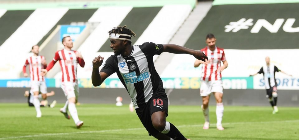 Exclusive: Rob Lee claims other Newcastle players must help Saint-Maximin