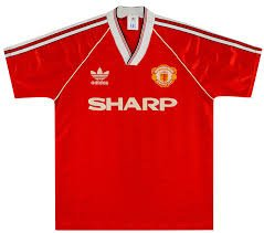 Manchester United 1988-90 Home Shirt