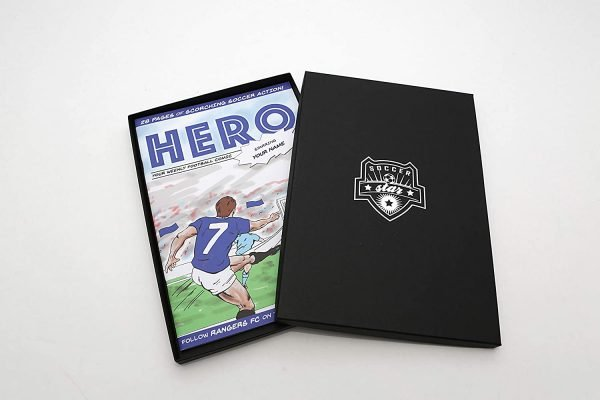 Personalised Football Comic Book by Soccer Star