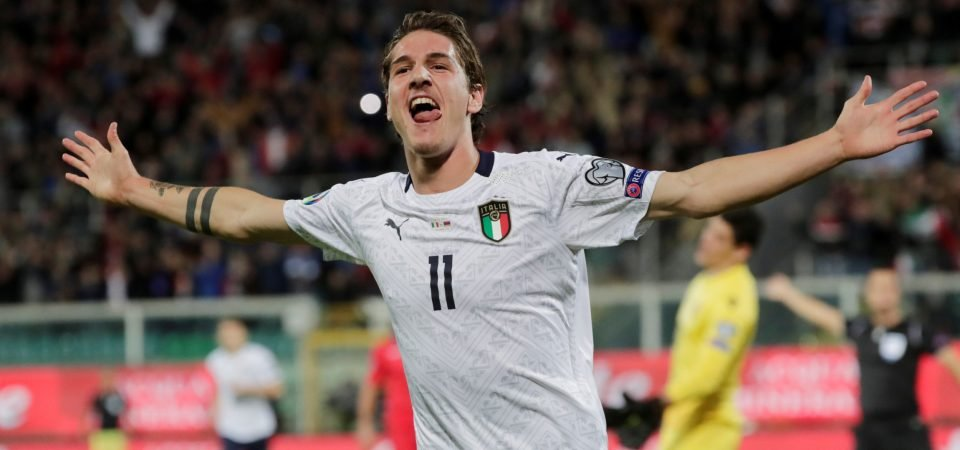 """Spurs must sign """"explosive"""" Roma playmaker Nicolo Zaniolo for £55m"""