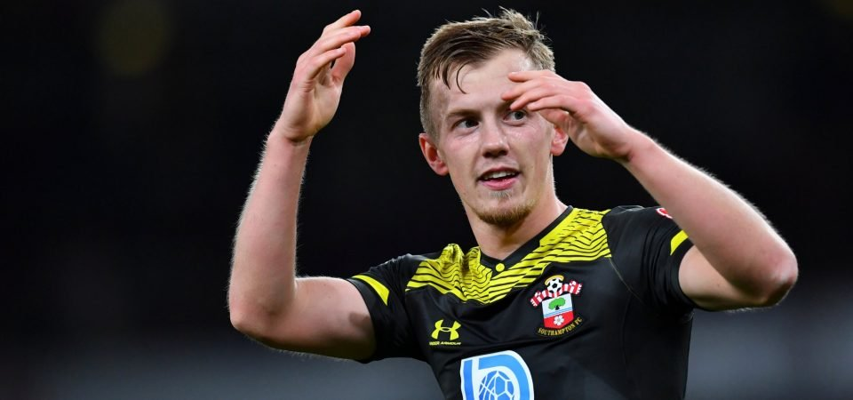 Southampton: James Ward-Prowse in contention to face Everton