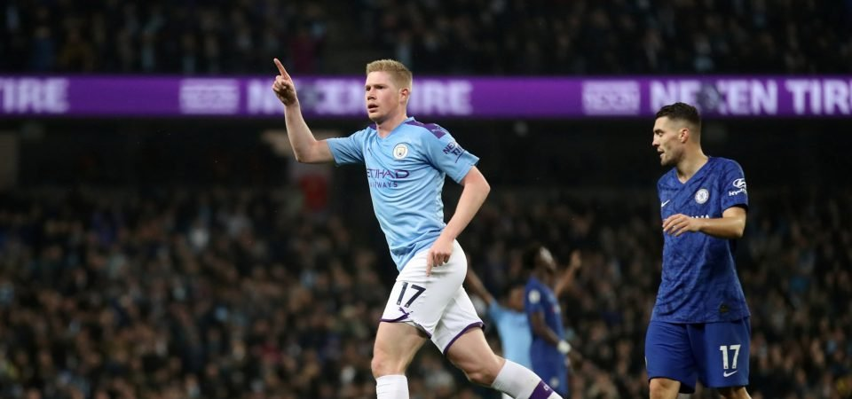 Manchester City: Guardiola handed De Bruyne injury boost ahead of Spurs