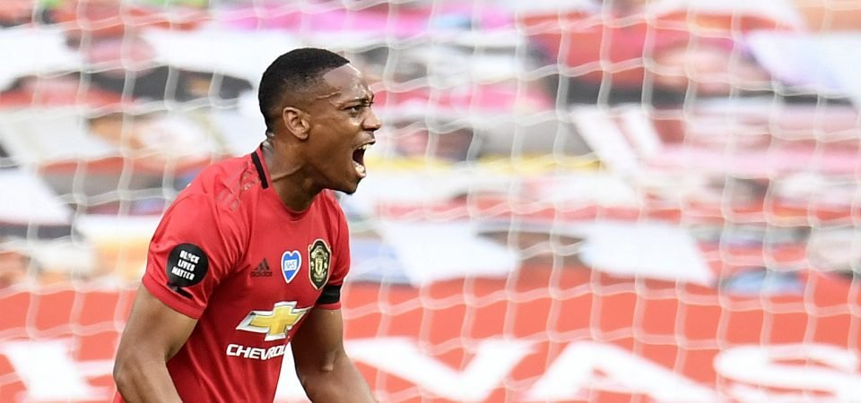 Manchester United will reportedly listen to offers for Anthony Martial