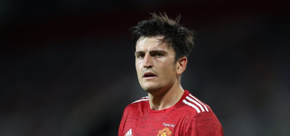 Manchester United: No Maguire in United training