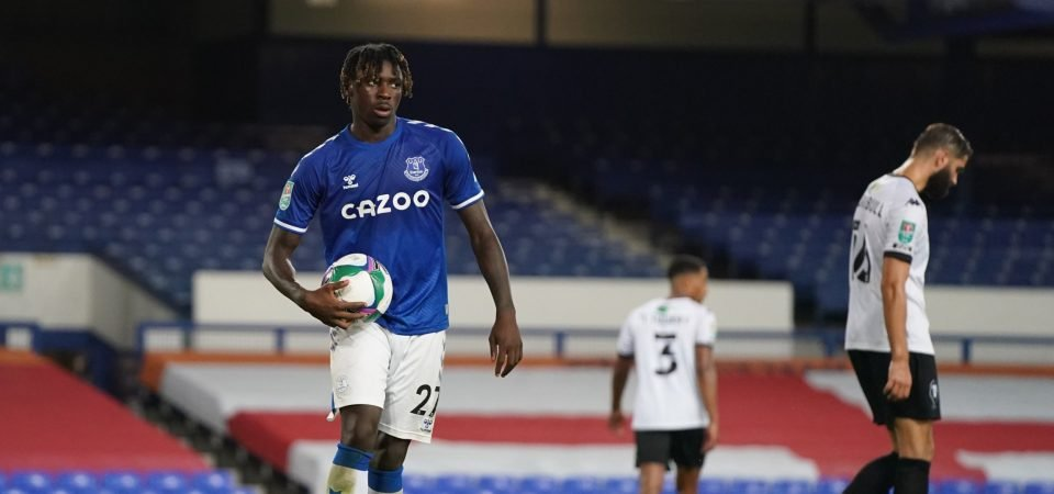 Carlo Ancelotti and Marcel Brands to weaken Everton with Moise Kean exit plans