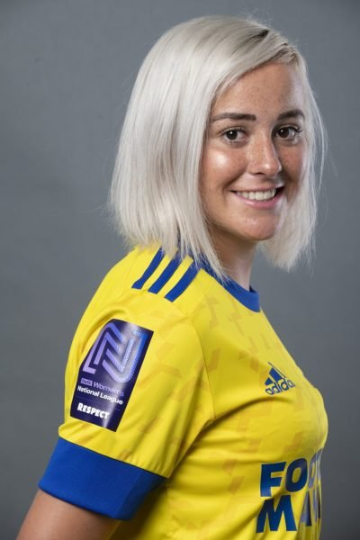 HU 0003 3 400x600 - EVIE CLARKE SIGNS FOR HASHTAG UNITED FC WOMEN!