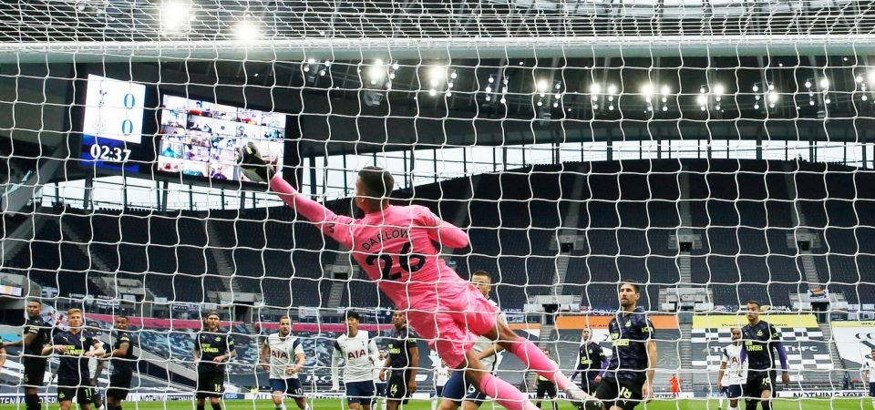 Newcastle fans praise Karl Darlow for his display against Spurs