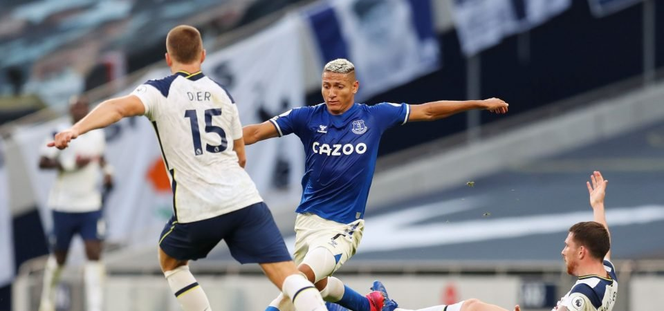 """Richarlison's return at Fulham """"absolutely brilliant"""" for Everton, claims Bent"""