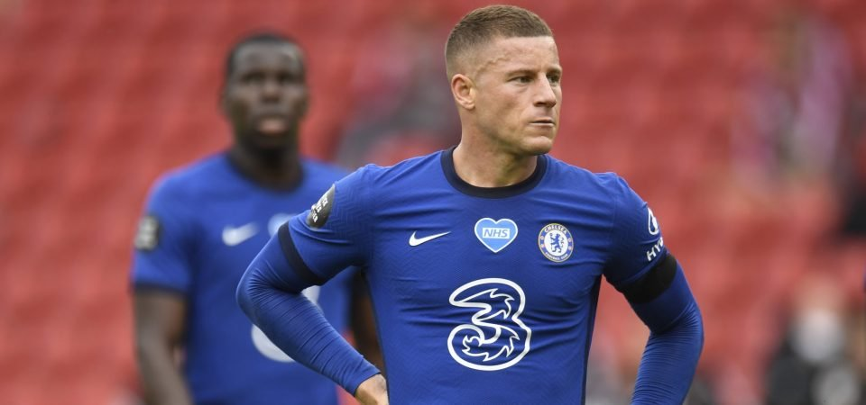 Reporter feels Chelsea will struggle to offload Ross Barkley due to inflated wages