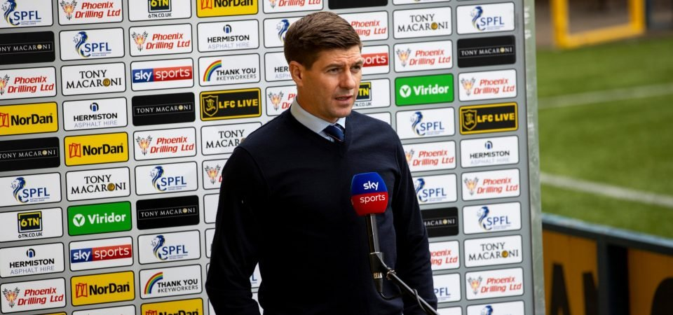 Exclusive: Pundit drops major claim on Gerrard's Rangers future