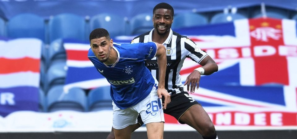 Leon Balogun let Rangers down defensively against Motherwell