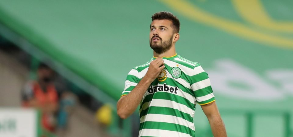 Albian Ajeti stealing a living at Celtic