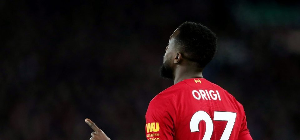 Fulham missed out on not signing Divock Origi from Liverpool in the summer