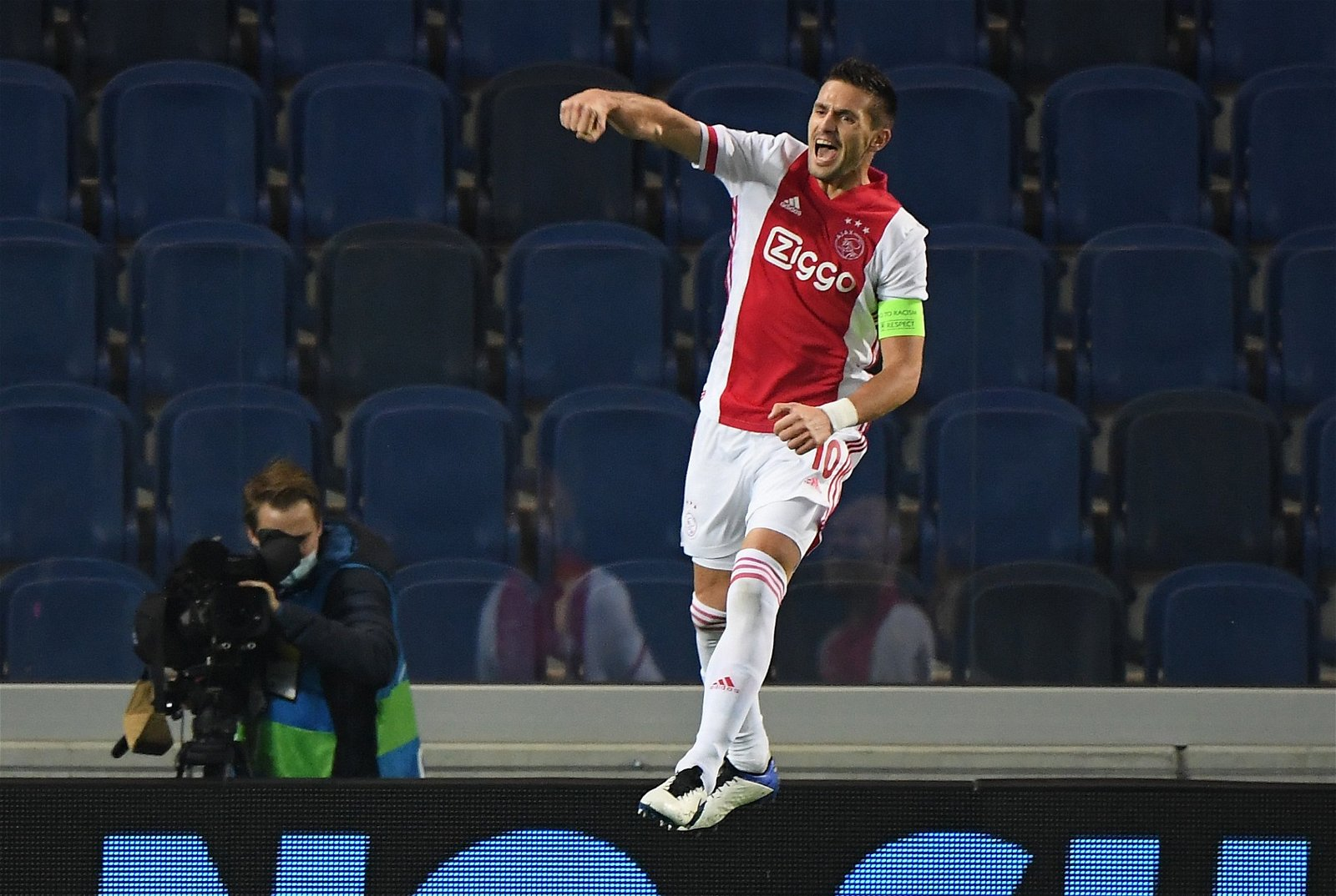 Dusan Tadic celebrates for Ajax 1 - Hasenhuttl must regret £10m Southampton sale; it saved Armstrong's St Mary's career – opinion