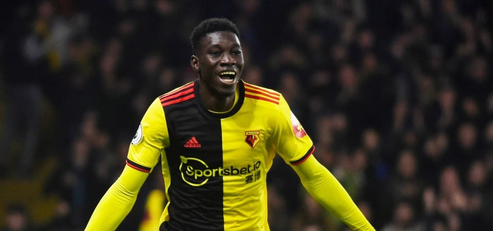 Crystal Palace may live to regret missing out on Watford winger Ismaila Sarr