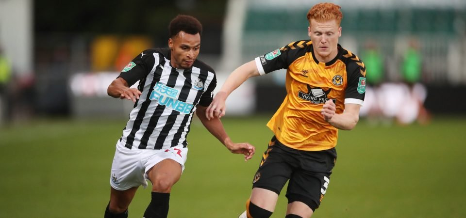Glasgow Rangers suffer transfer setback as Newcastle may offer Jacob Murphy new deal