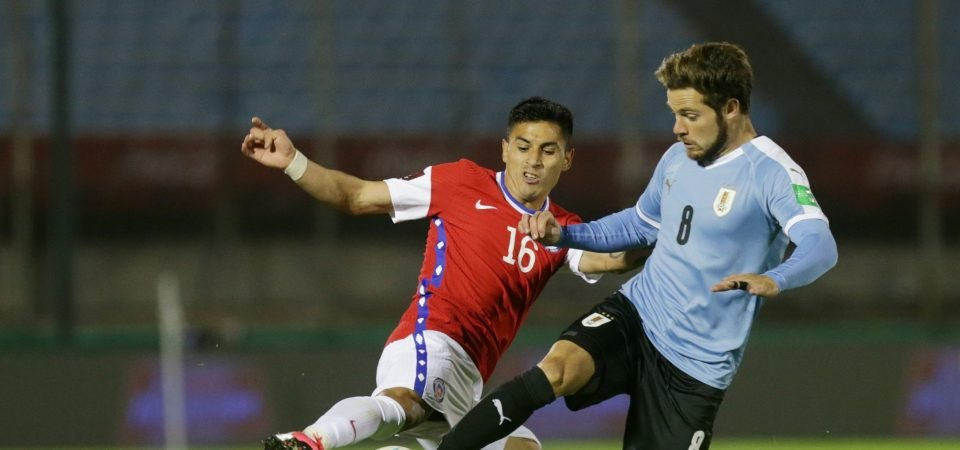 Nahitan Nandez shows West Ham what they missed in Uruguay win vs Chile