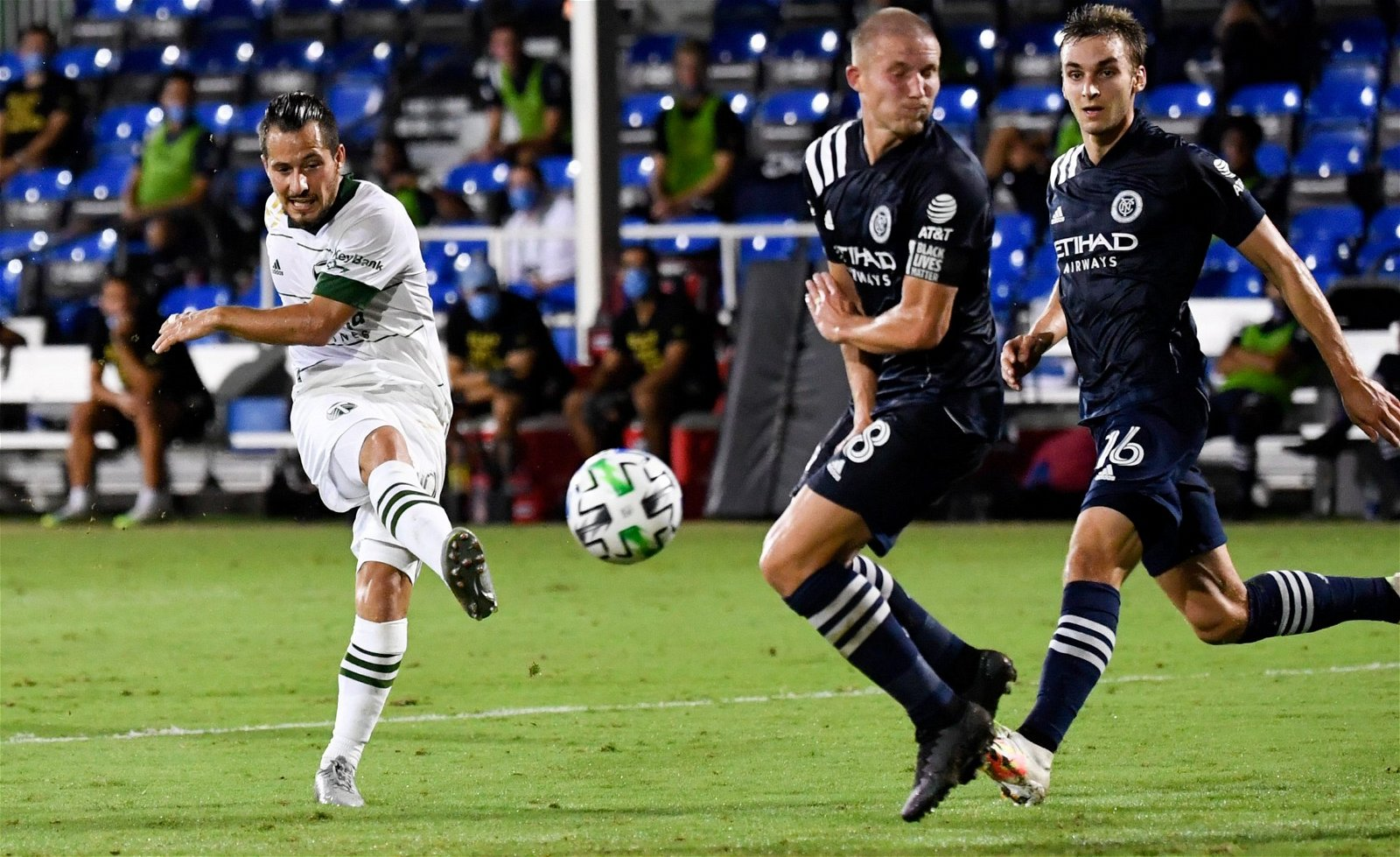portland timbers midfielder sebastian blanco shoots vs new york mls e1602425129233 - Only played 201 minutes: Alan Irvine flop now a MVP trophy winner after West Brom exit - opinion