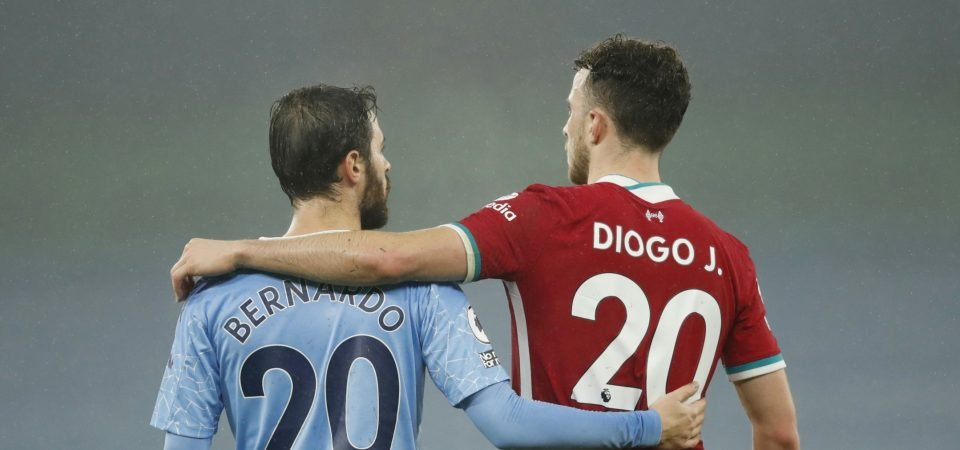 Diogo Jota cost Liverpool three points against Manchester City