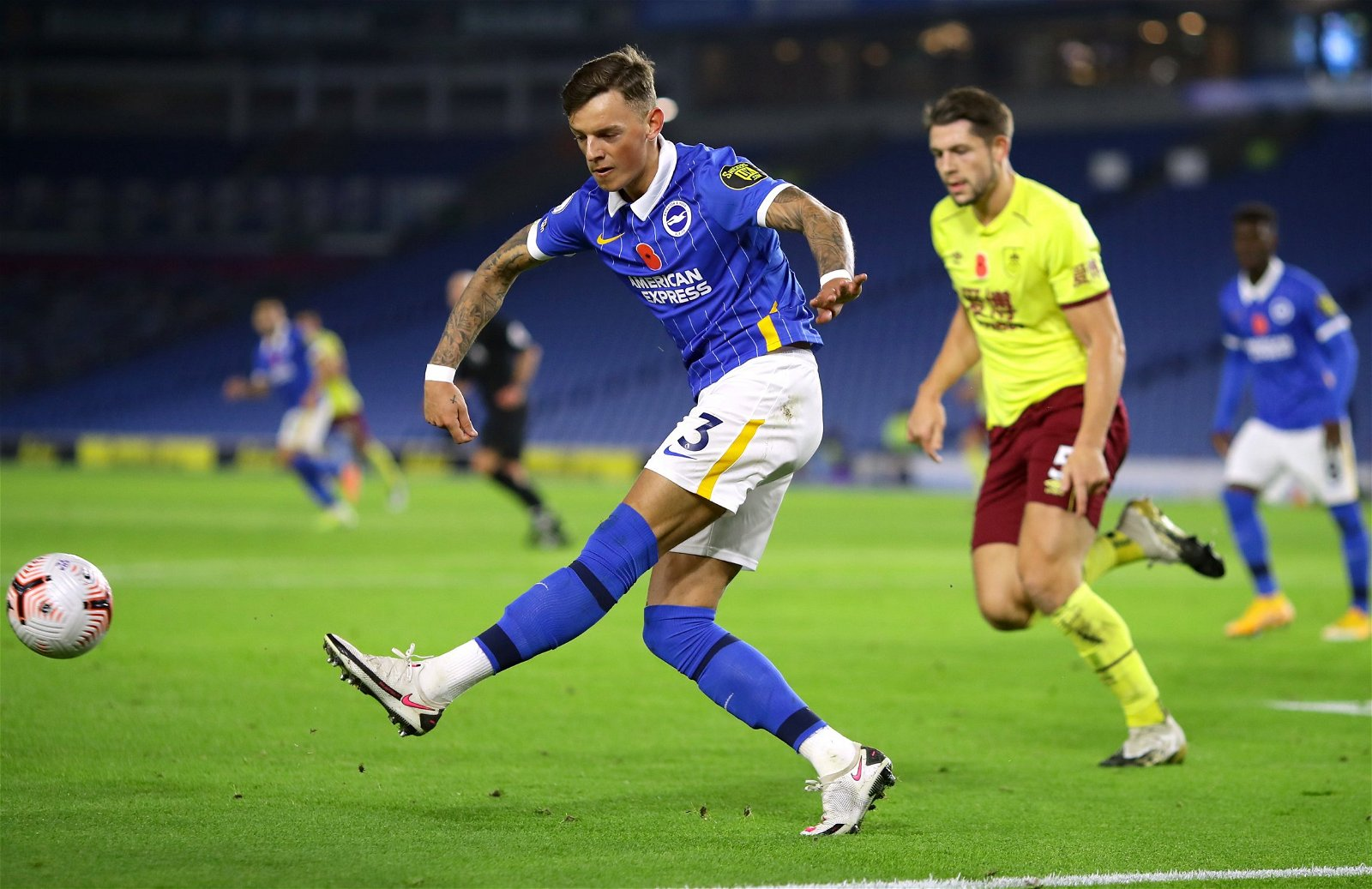 """Ben White in action for Brighton - Forget Koch: Orta could land Leeds perfect Cooper partner in """"phenomenal"""" £20m titan – opinion"""