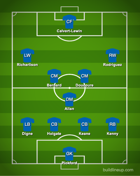 Everton PXI vs Fulham - Sigurdsson dropped, Ancelotti makes bold Bernard call: Predicted Everton XI vs Fulham – opinion