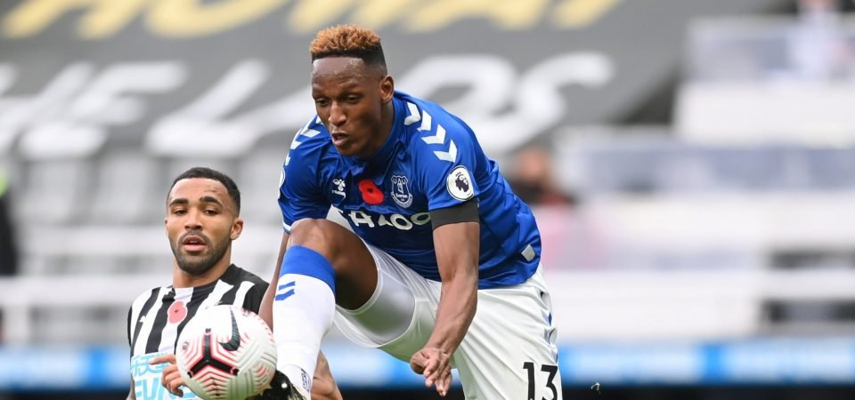 Yerry Mina: Everton defender produces torturous display in Colombia loss