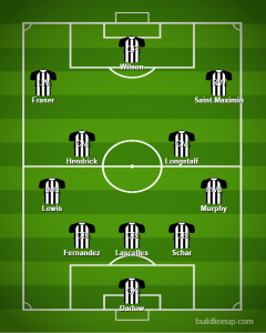 Newcastles predicted line up versus Southampton 240x300 - Almiron dropped as Bruce makes big calls over duo: Newcastle's predicted XI vs Saints - opinion