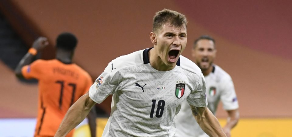 Liverpool have been linked with a move for Nicolo Barella