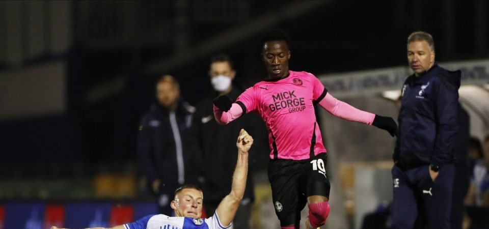 Celtic facing competition for Peterborough's Siriki Dembele