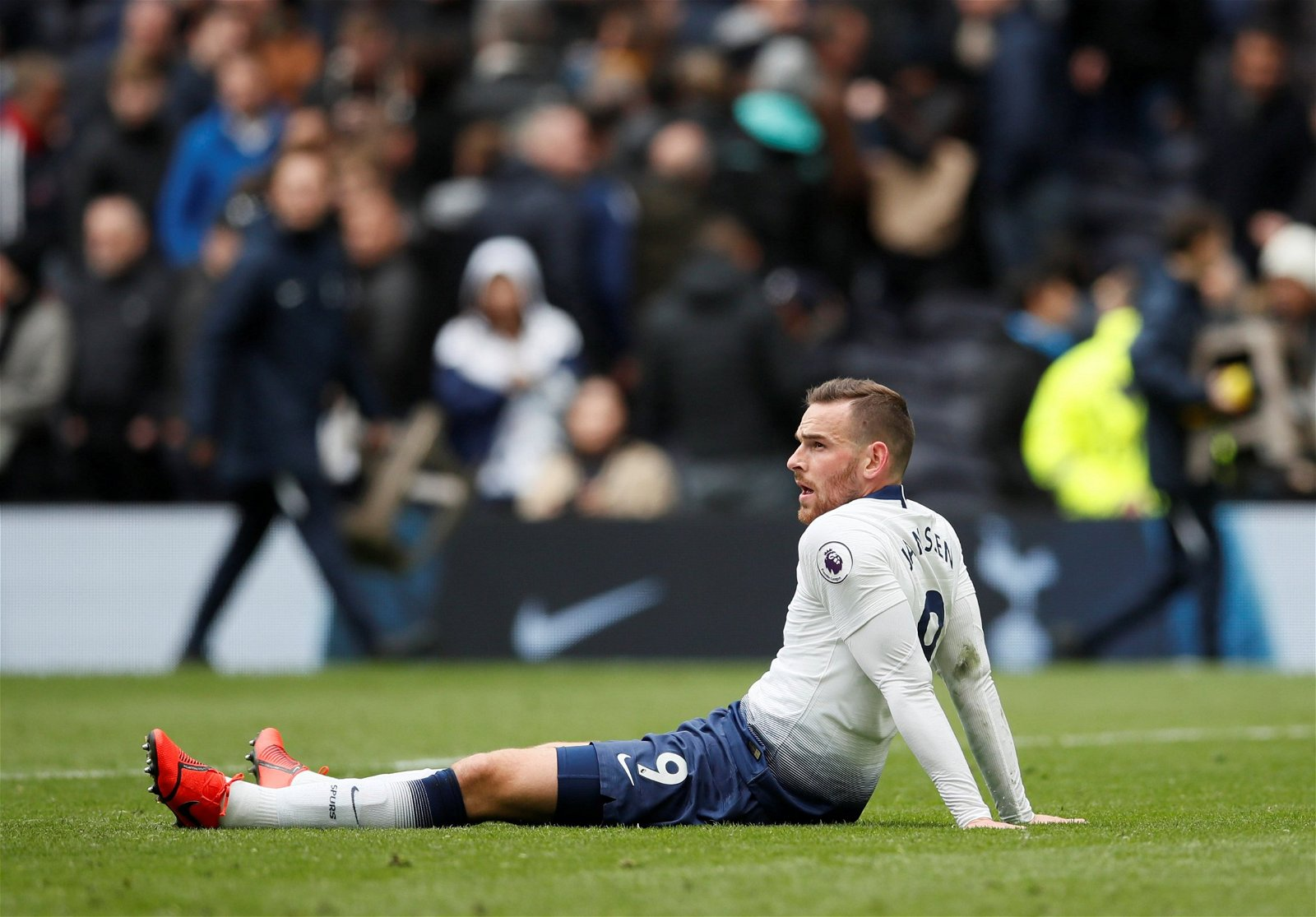 Tottenhams Vincent Janssen reacts after the match - Cost £17m, sold for £6m: Spurs' financial loss Levy's price to pay for Poch blunder – opinion
