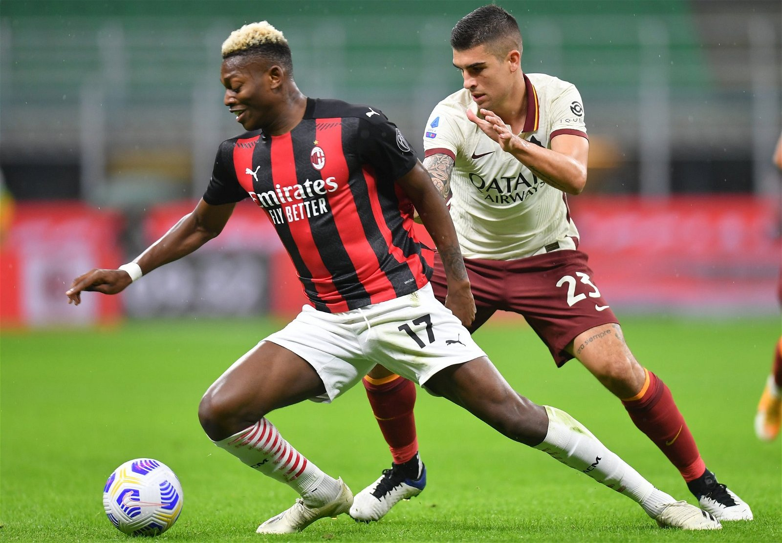 ac milan star rafael leao vs roma serie a e1604489508564 - Wolves must rue not signing dream Jimenez partner in £36m-rated gem likened to Mbappe - opinion