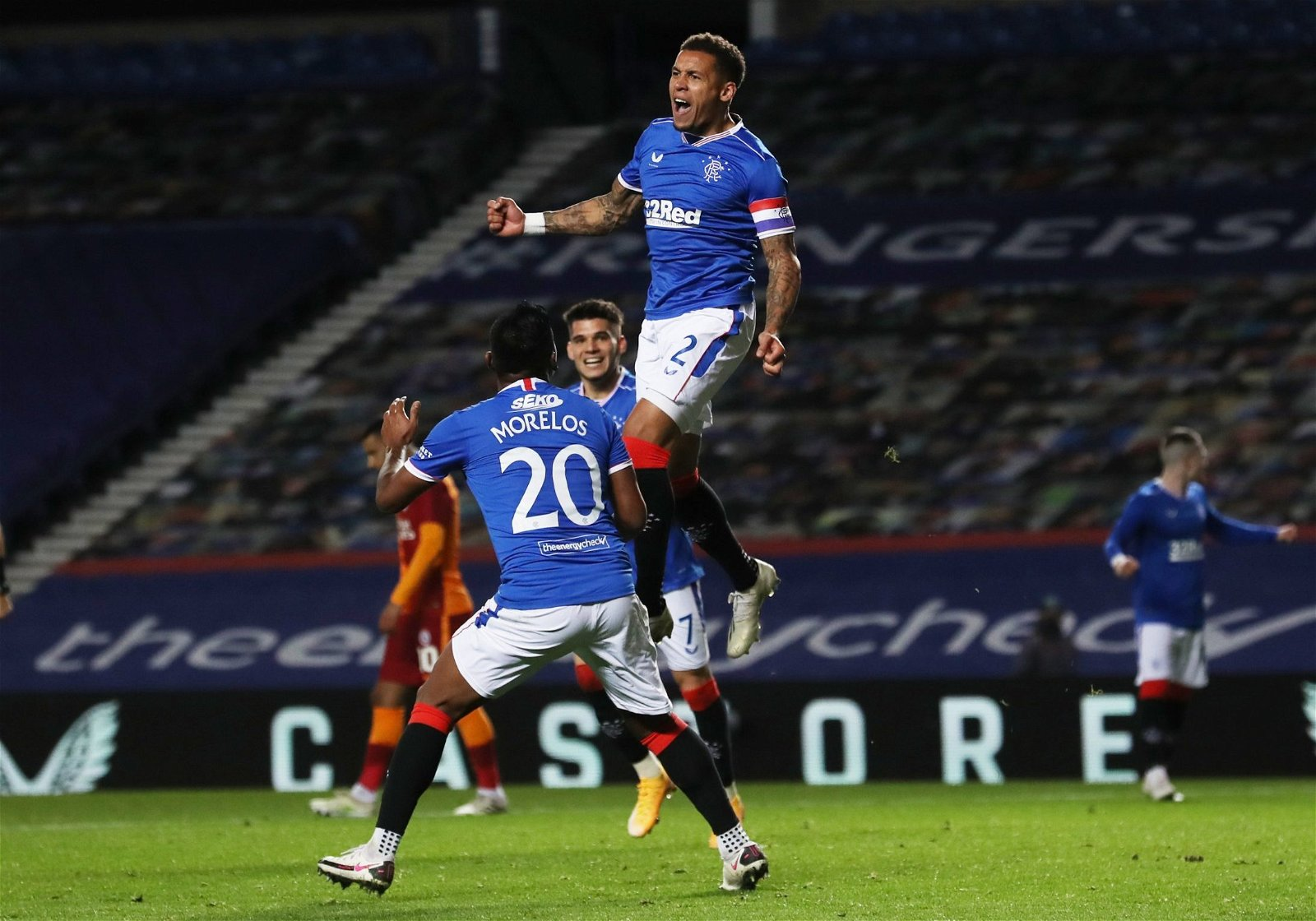 james tavernier celebrates scoring rangers vs galatasaray e1604500244587 - Left for £0, since involved in 152 goals: Leeds reject still punishing Bates blunder - opinion