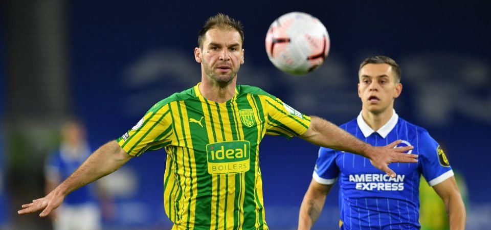 West Brom's Branislav Ivanovic lucky to not be punished for nightmare display