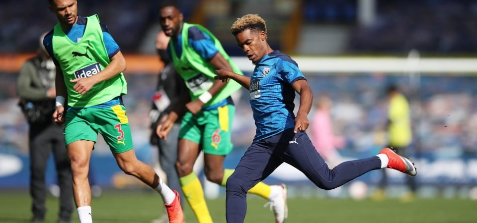 West Brom winger Grady Diangana ruled out of West Ham return clash