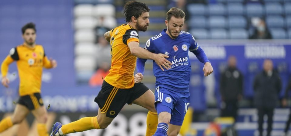 Ruben Neves a rare bright spark in Wolves' defeat to Leicester